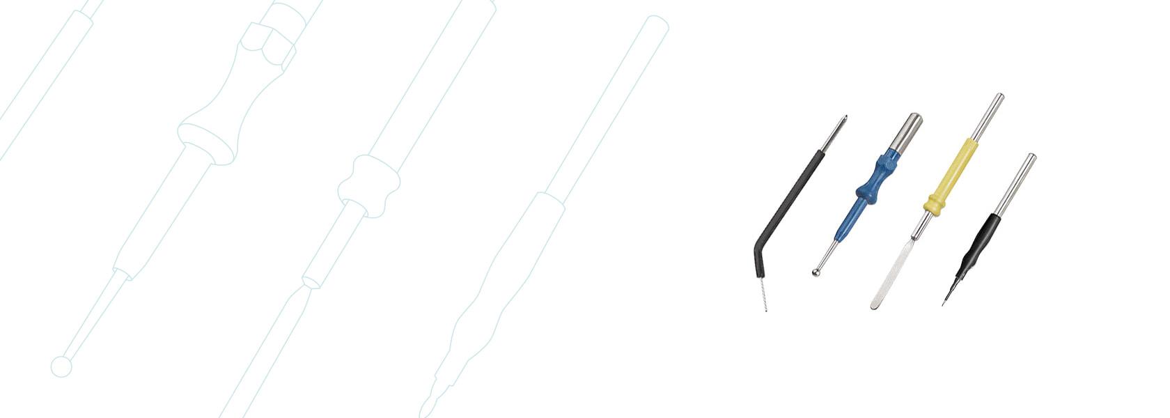 Принадлежности, аксессуары и расходные материалы для электрохирургическим аппаратам KLS Martin