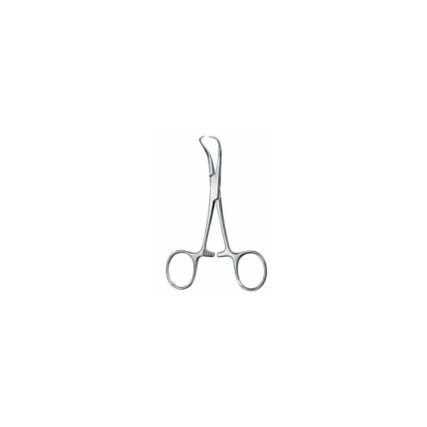 TOWEL FORCEPS, BACKHAUS, SHARP, 13 CM — зажим для белья, по Backhaus, 13 см